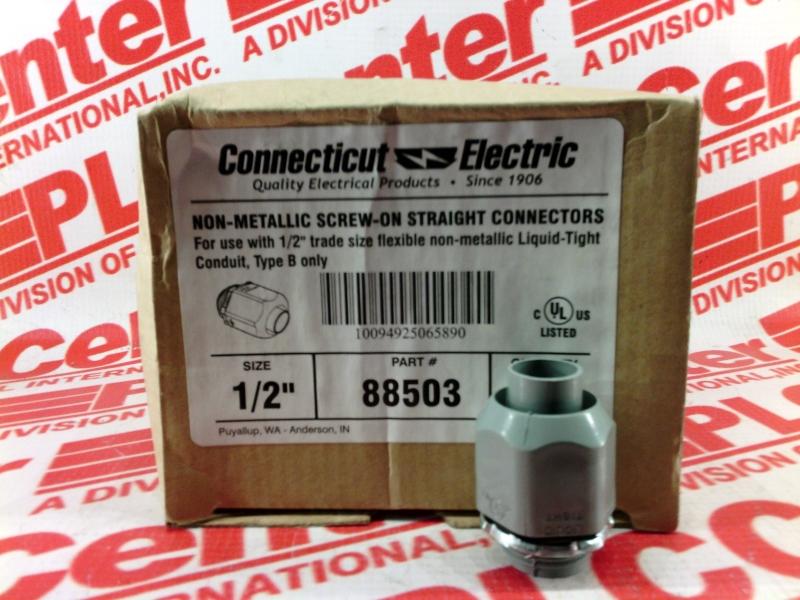 CONNECTICUT ELECTRIC INC 88503