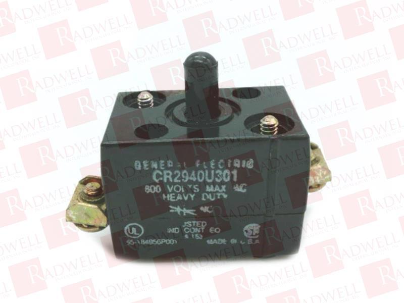 GENERAL ELECTRIC CR2940U301 0