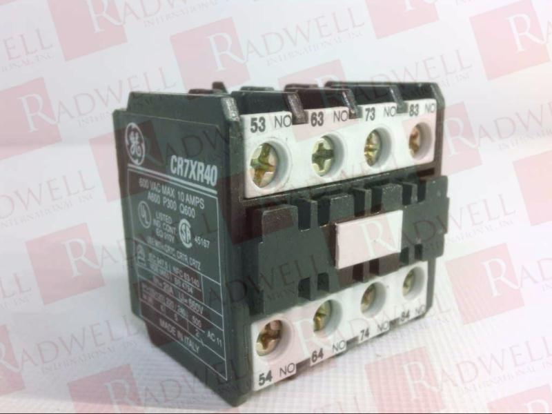 GENERAL ELECTRIC CR7XR-40