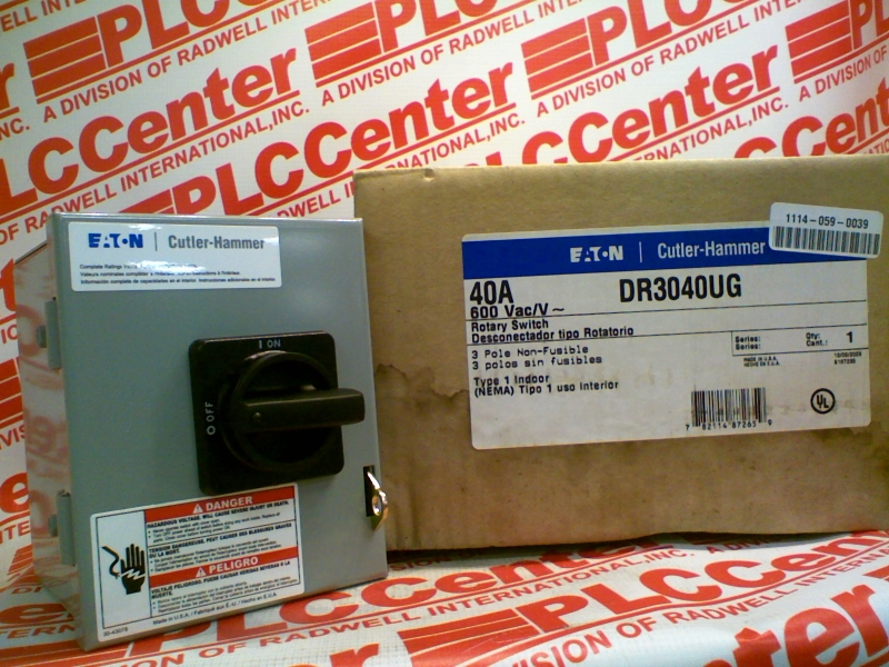 EATON CORPORATION DR-3040UG