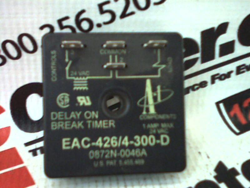 A 1 COMP CORPORATION EAC-426/4-300-D