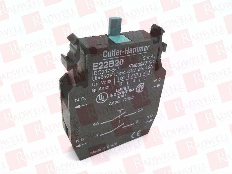 EATON CORPORATION E22B20 NEW NO BOX E22B20