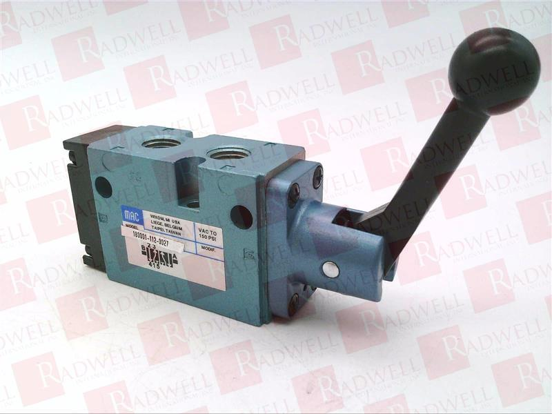 MAC VALVES INC 180001-112-0027 0