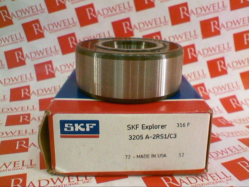 3205-A-2RS1/C3 by SKF - Buy or Repair at Radwell - Radwell com