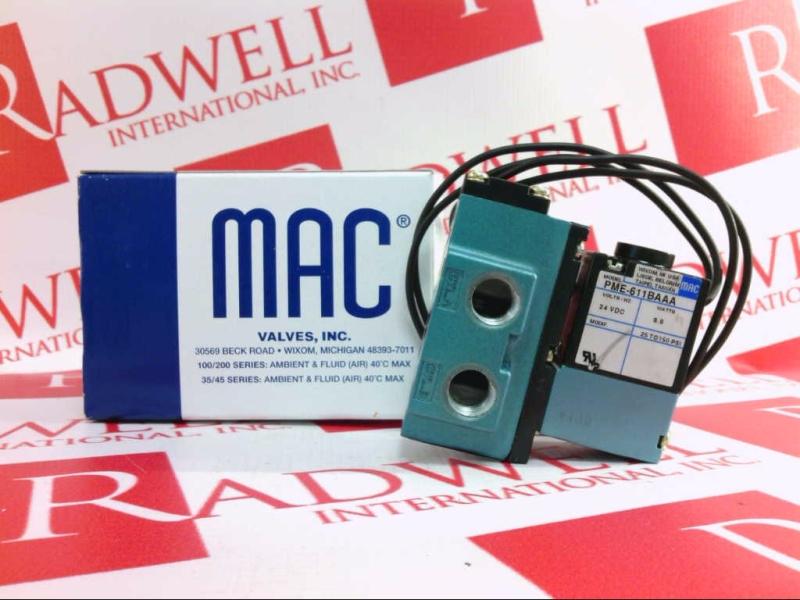MAC VALVES INC PME-611BAAA