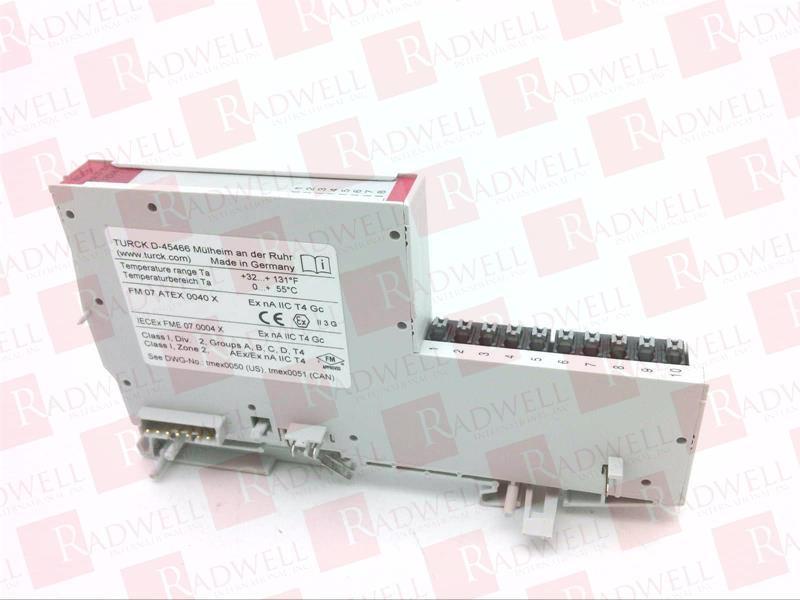 Turck BL20-E-8DO-24VDC-0.5A-P Economy Module 24VDC 8 Digital Outputs