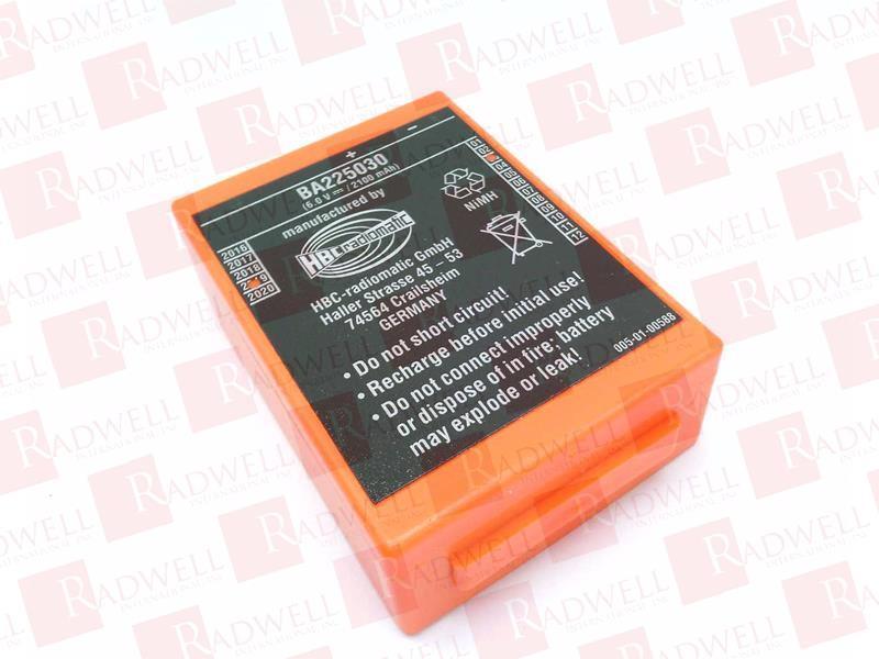 BA225030 by HBC RADIOMATIC - Buy or Repair at Radwell