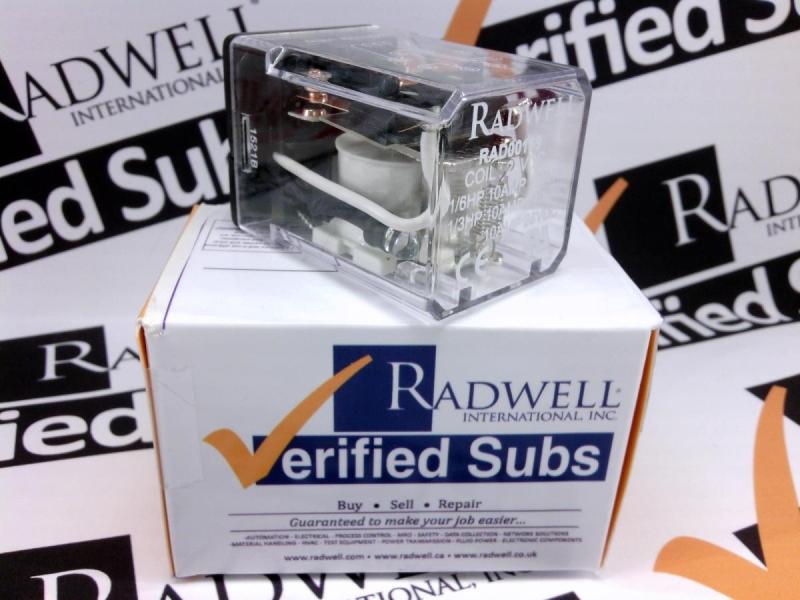 RADWELL VERIFIED SUBSTITUTE RR2P-ULDC24V-SUB