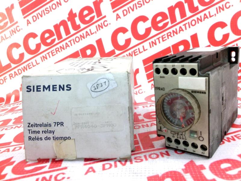 SIEMENS 7PR4040-3PM00