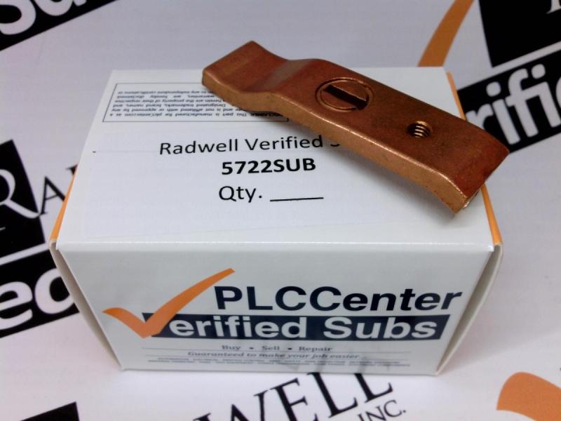 RADWELL VERIFIED SUBSTITUTE 5722SUB