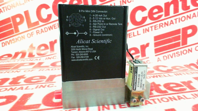 ALICAT SCIENTIFIC PC-15PSIG-0/10IN