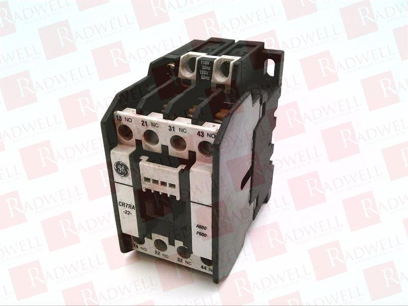 GENERAL ELECTRIC CR7RA22EA 0