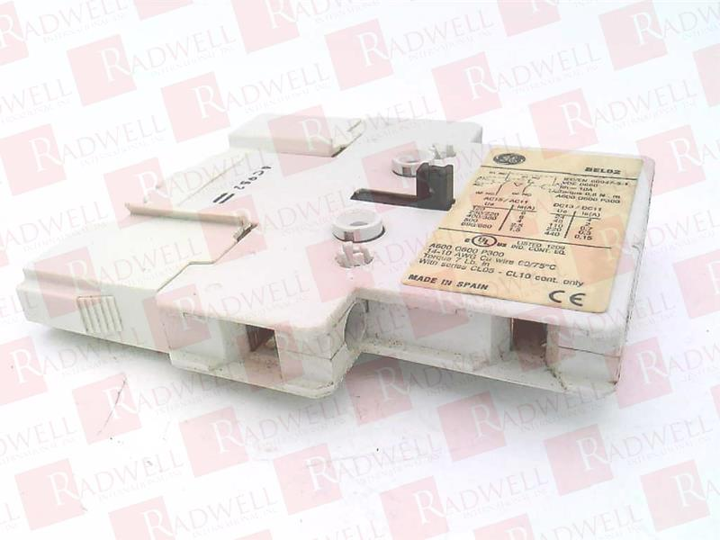 GENERAL ELECTRIC BEL02 0