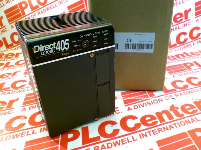 AUTOMATION DIRECT D4-440DC-2