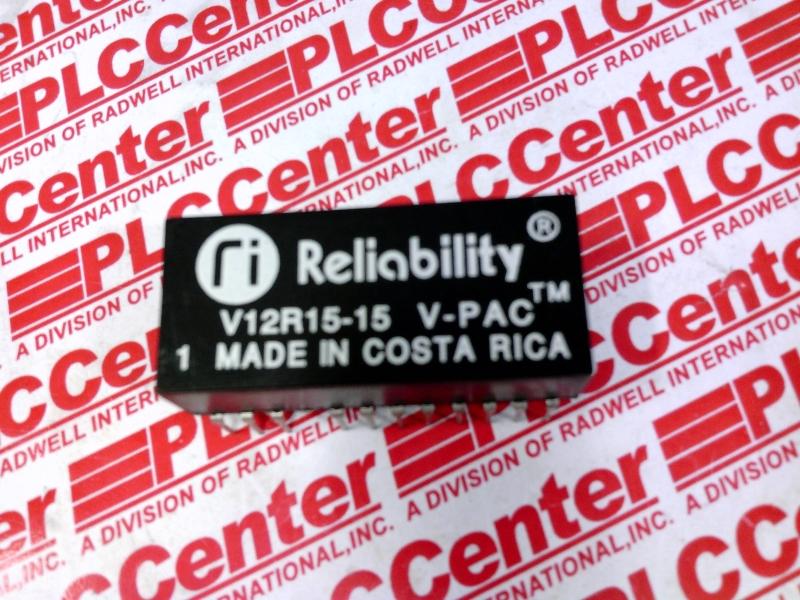 RELIABILITY INC V12R15-15