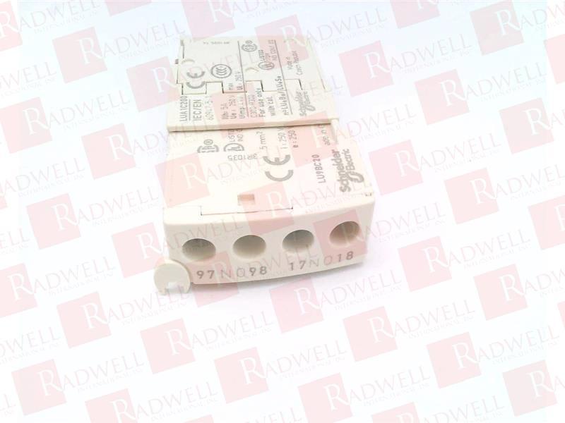 NEW IN BOX SCHNEIDER ELECTRIC LUA1C20 LUA1C20