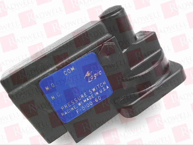 Pressure Switch P//N P-60 Surplus New Pressure Controls Inc 1//8 NPTM