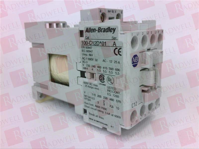 ALLEN BRADLEY 100-C12DJ01