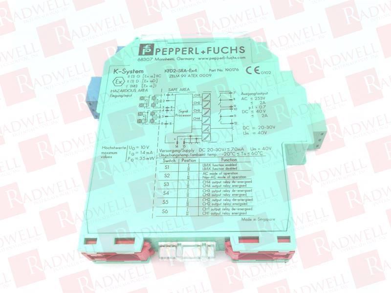 PEPPERL & FUCHS KFD2-SRA-EX4