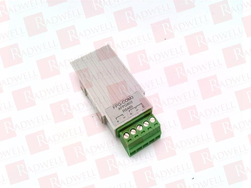 MATSUSHITA ELECTRIC FPG-COM3 0