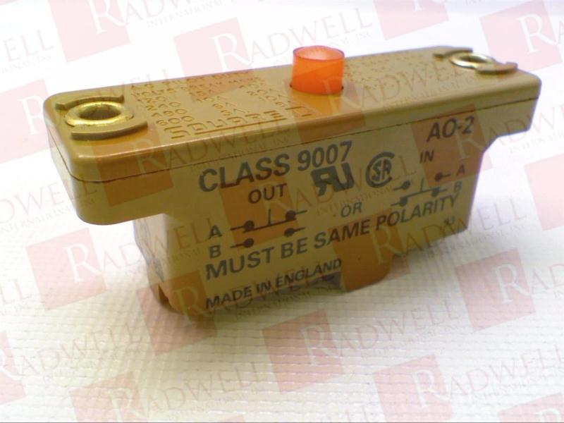 SCHNEIDER ELECTRIC 9007-AO2