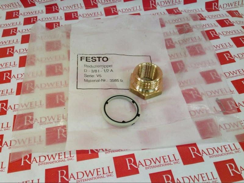 3585 FESTO  D-3//8I-1//2A  No