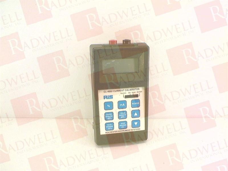 ROCHESTER INSTRUMENT SYSTEMS CL-4002