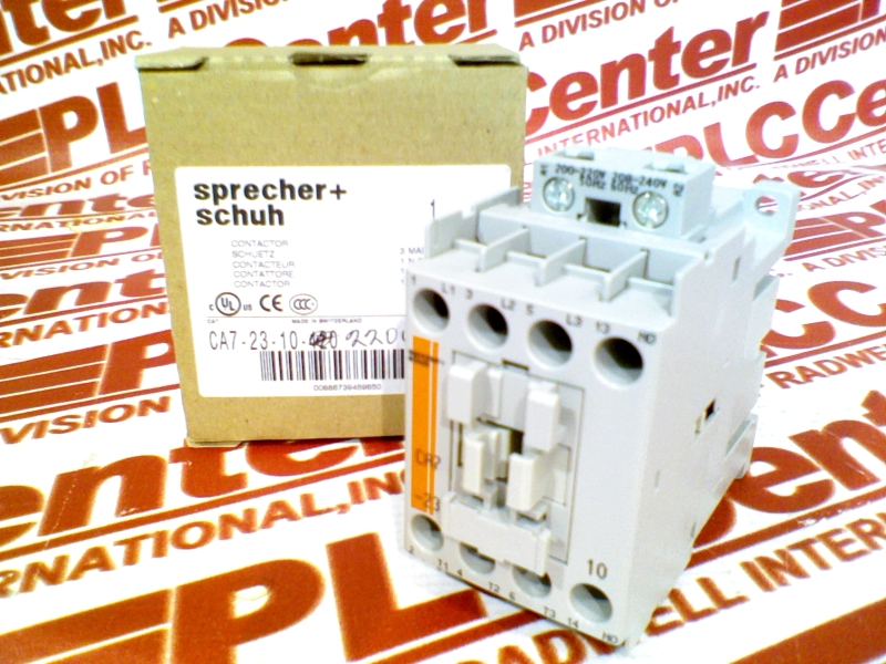 Schuh CA7-23-10 Contactor 208-240V Sprecher