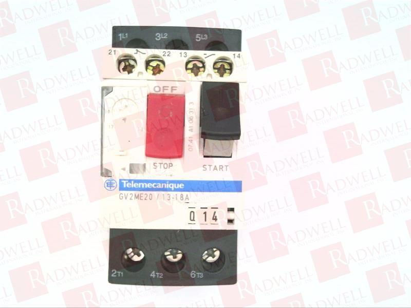 SCHNEIDER ELECTRIC GV2ME20 2