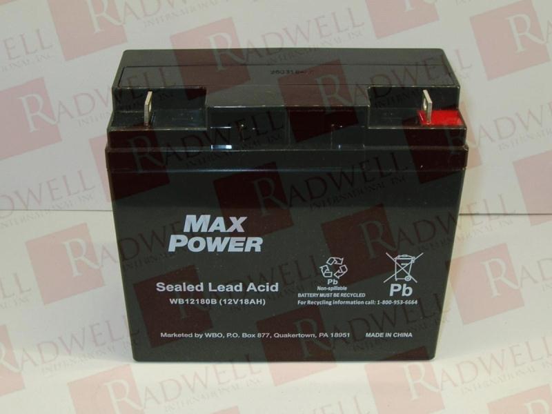 MAX POWER INDUSTRIAL UB12180