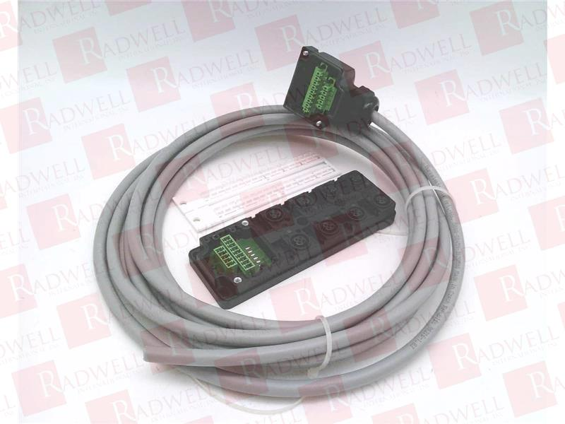 NEW MURR ELEKTRONIX SOLENOID CABLE 230V AC//DC 3 WIRE 4 PIN