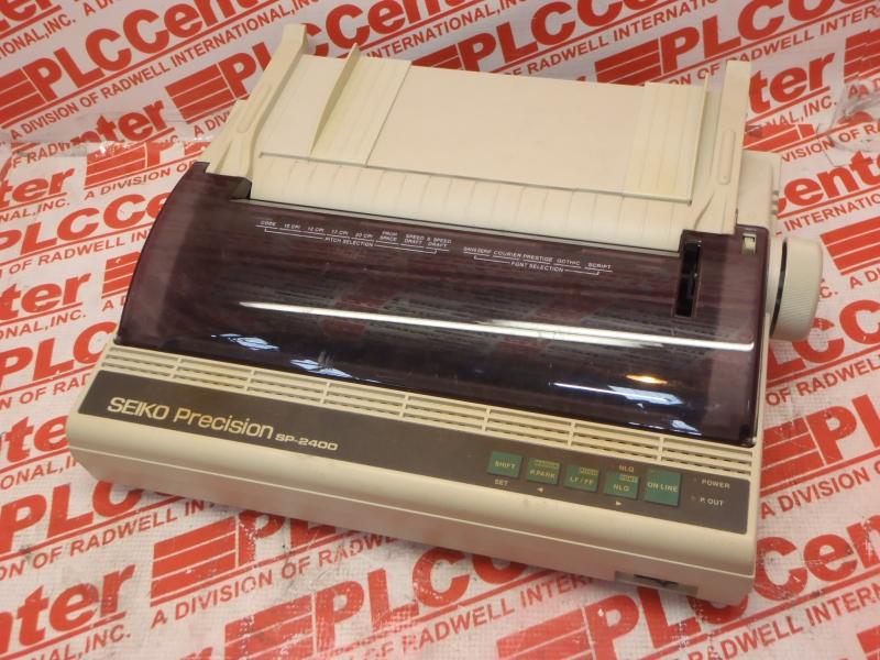 SEIKOSHA SP-2400 DRIVER FOR PC