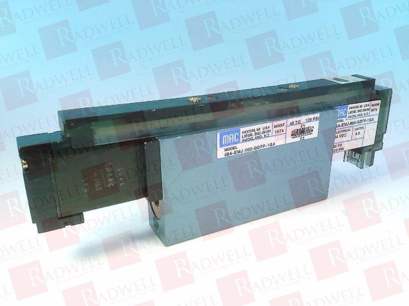 MAC VALVES INC 48A-EMJ-000-GDFP-1GA