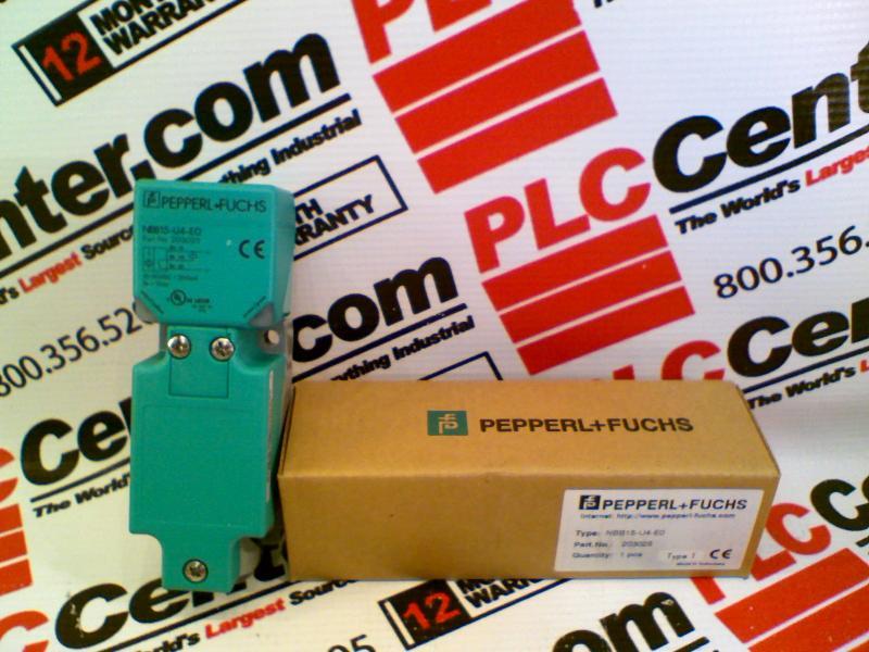 PEPPERL & FUCHS NBB15-U4-E0