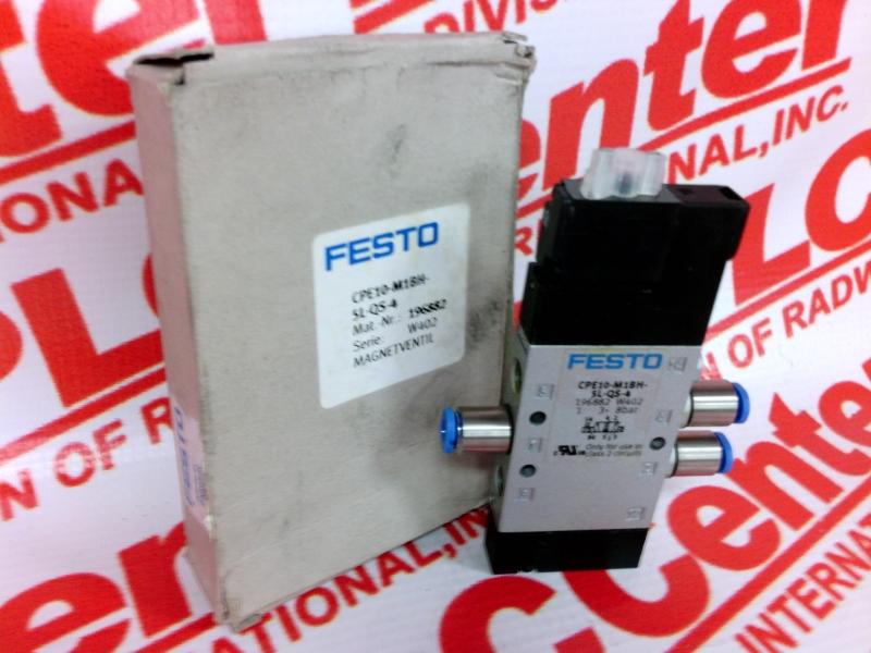 Festo cpe10-m1bh-5l-qs-4 solenoid valve