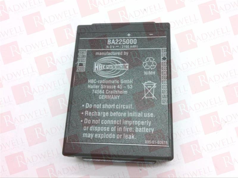 BA225000 by HBC RADIOMATIC - Buy or Repair at Radwell