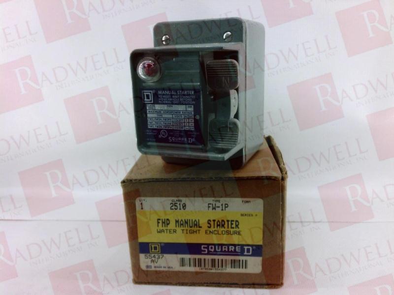 SCHNEIDER ELECTRIC 2510FW1P 1