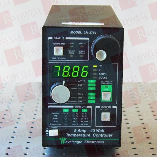 WAVELENGTH ELECTRONICS LFI-3751
