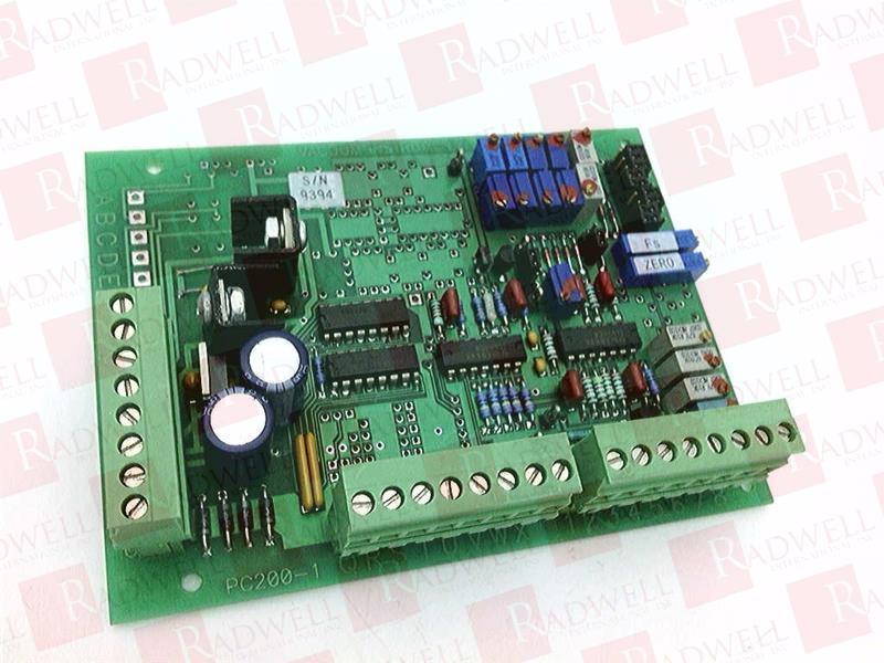 VACUUM INSTRUMENTS PC200-1