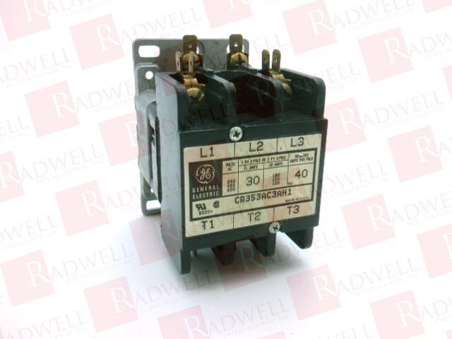 GENERAL ELECTRIC CR353AC3AH1 0