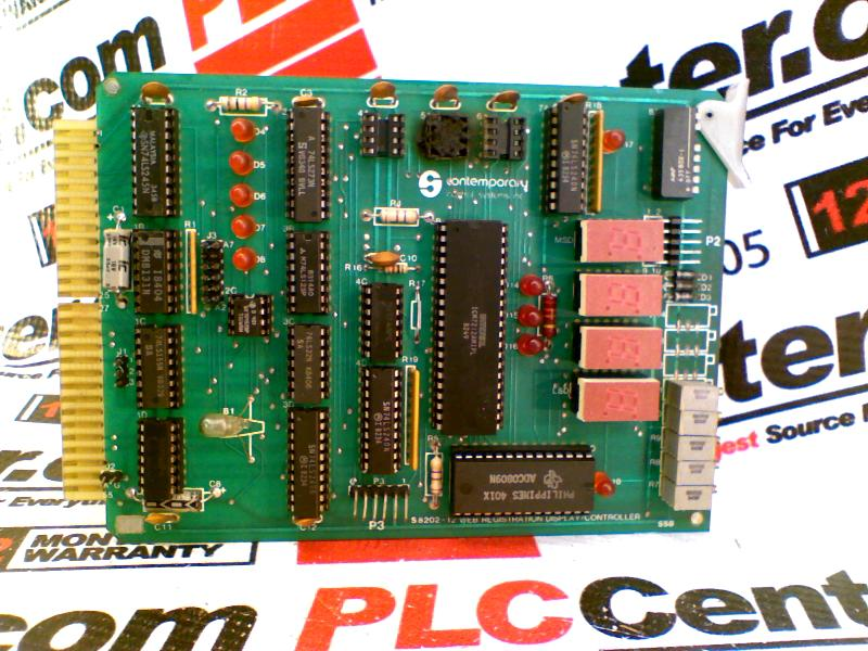 CONTEMPORARY CONTROL SYSTEMS S8202-12