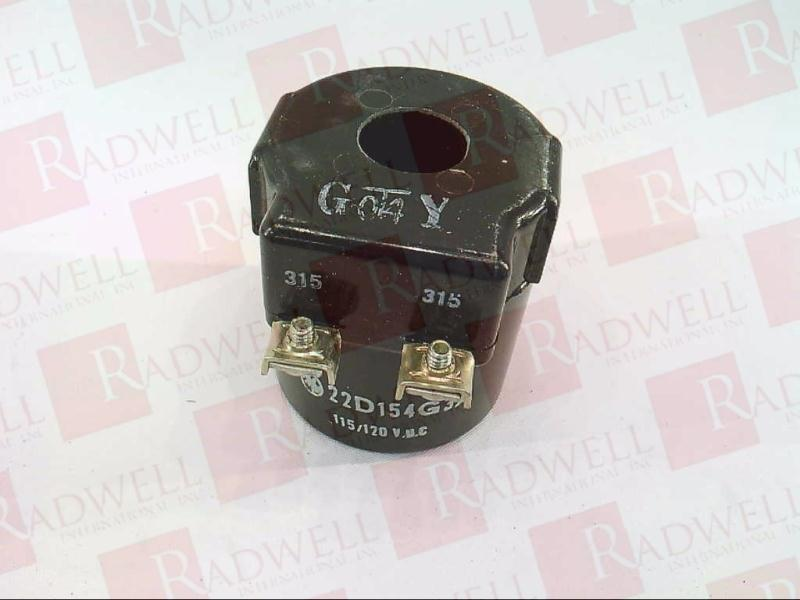 GE NEW GENERAL ELECTRIC COIL 22D154G3A 115//120 VDC