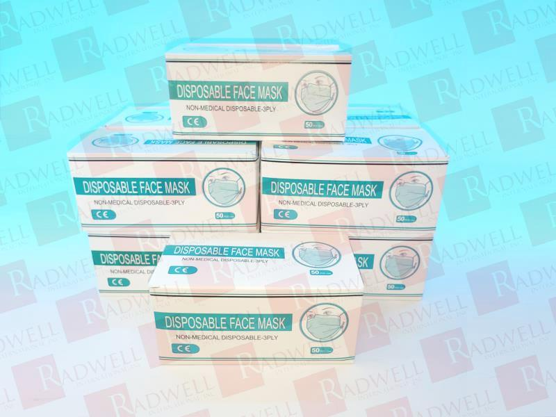 YUANLI DISPOSABLE FACE MASK - 10 BOXES OF 50