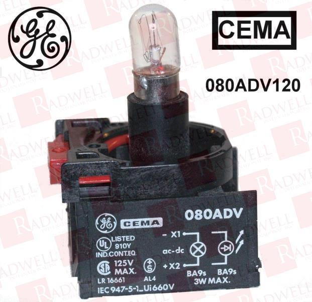 GENERAL ELECTRIC 080ADV120 0
