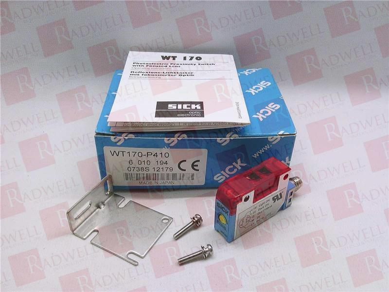 SICK OPTIC ELECTRONIC WT170-P410 1