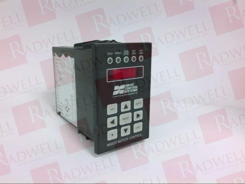 DRIVE CONTROL SYSTEMS MS320