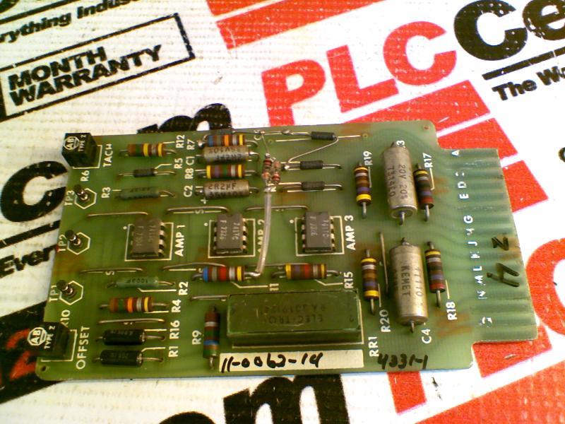 GETTYS MODICON 11-0062-14
