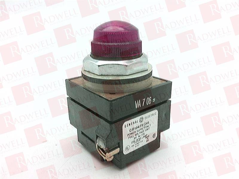 GENERAL ELECTRIC CR104PLG16R 0