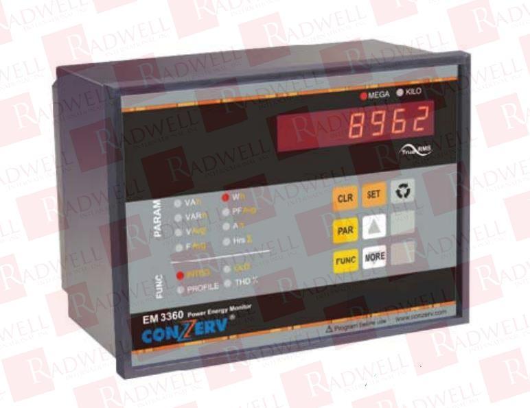 SCHNEIDER ELECTRIC EM-3480