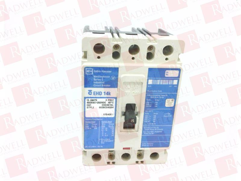 EATON CORPORATION EHD3015L 1